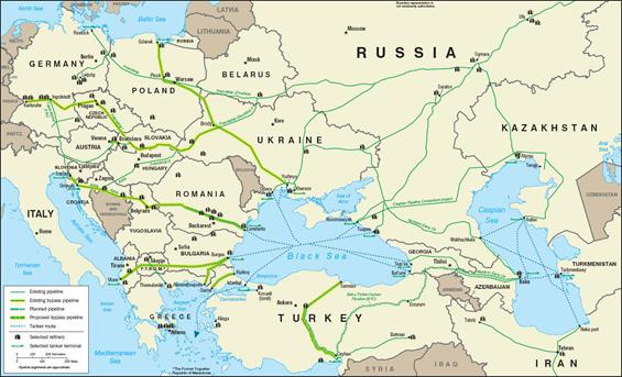Pipelines (oil)