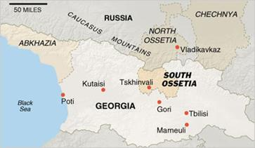 Georgia, Abkhazia, South Ossetia