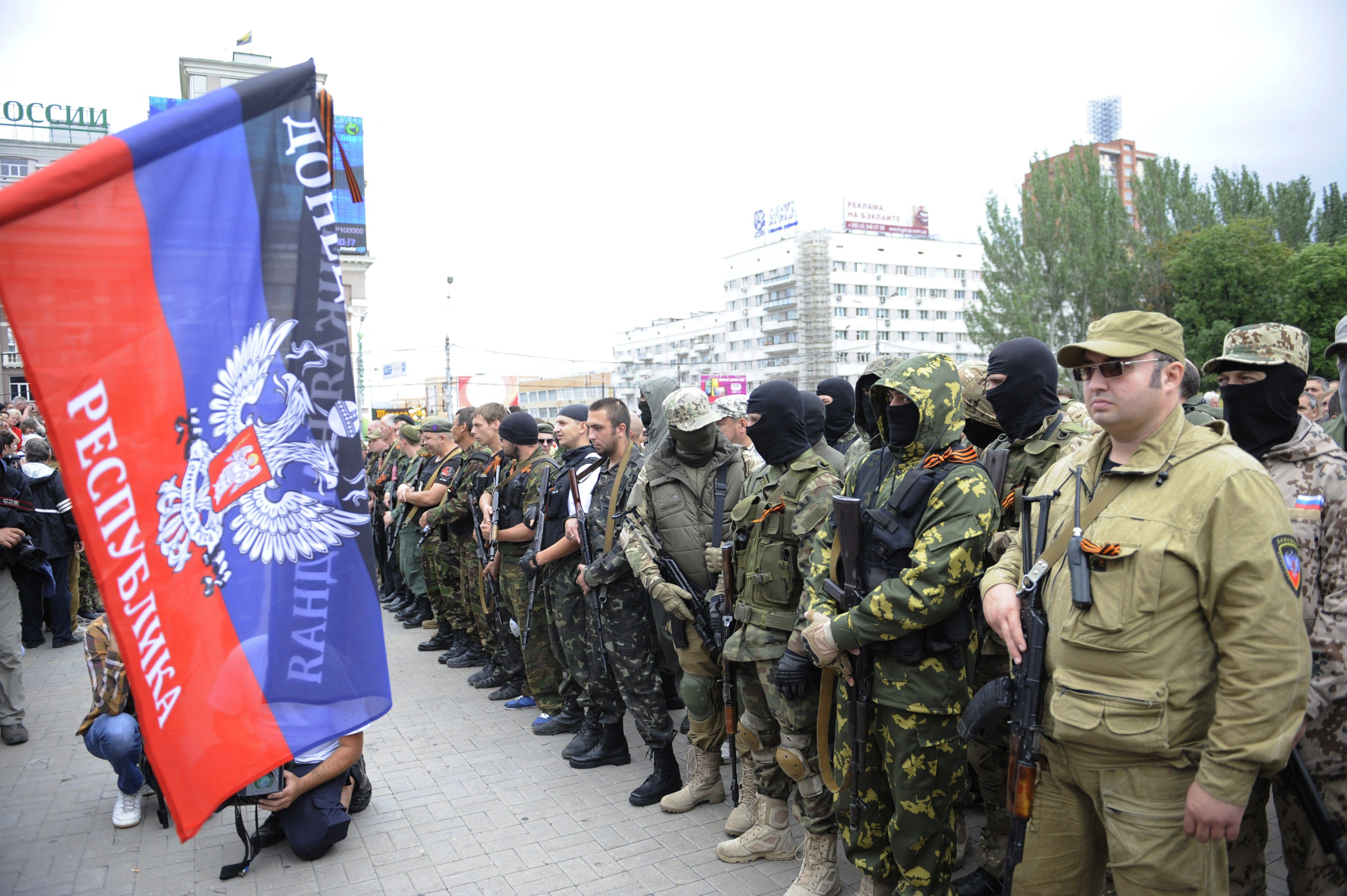 Russian Separatists Trick Journalists And Mothers Into The Line OfFire
