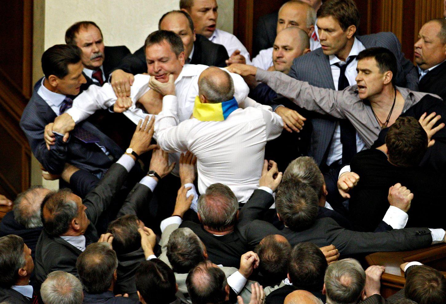 Ожидаемая будущая политика нового украинского парламента