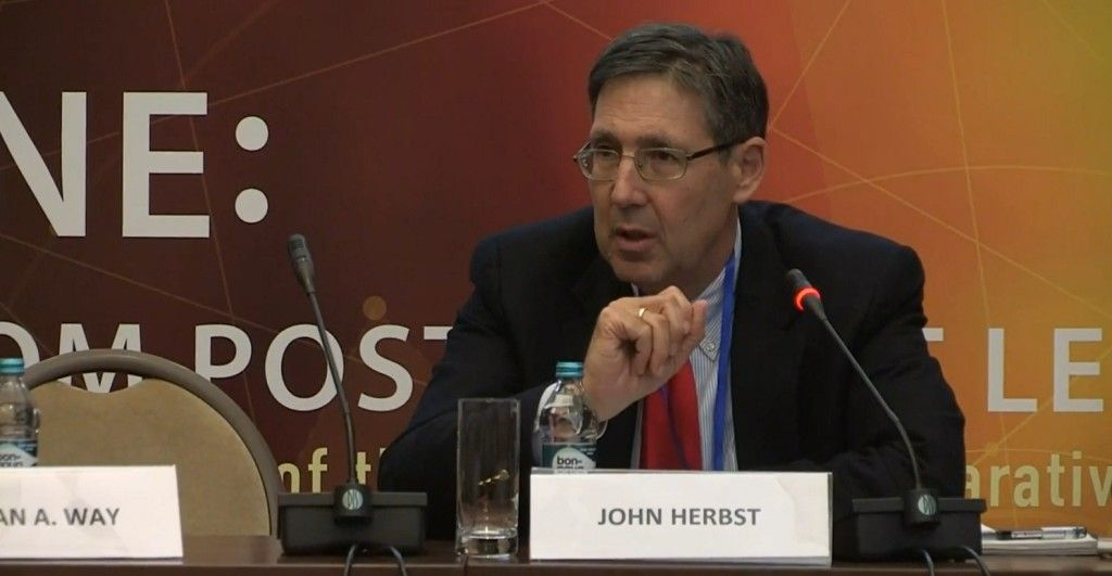 John Herbst: Frankly, the Very Top of Your Elites Are Corrupt