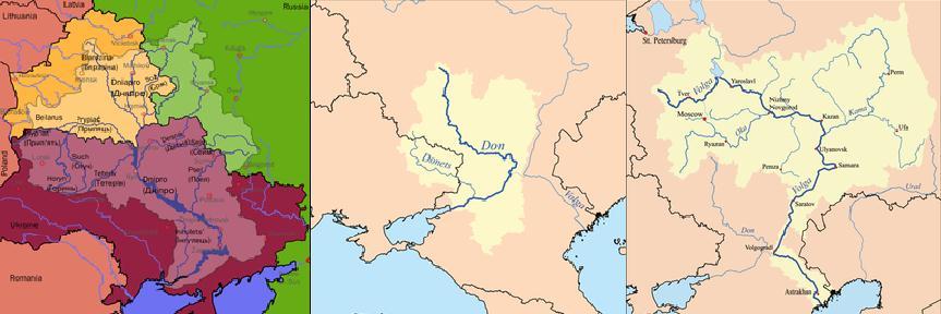 Dnipro_Don_Volga