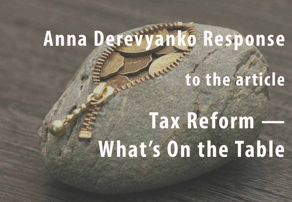 Anna Derevyanko: Cosmetic Changes will not Work for the Society