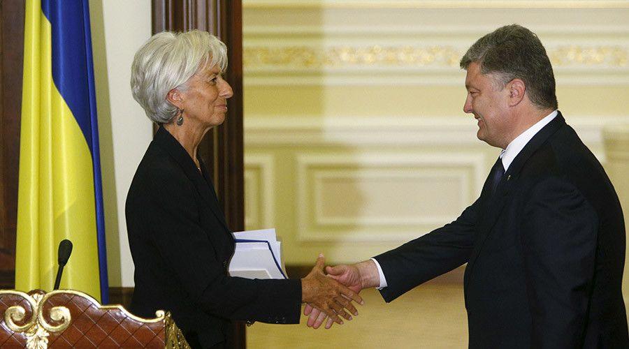 МВФ, Україна й Росія: Любовний Трикутник