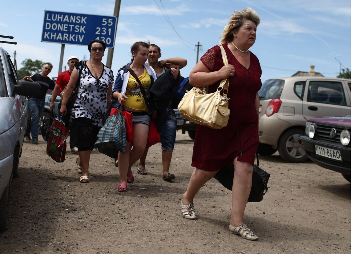 The Interconnection between Internally Displaced Persons, Shelling and the Minsk Process