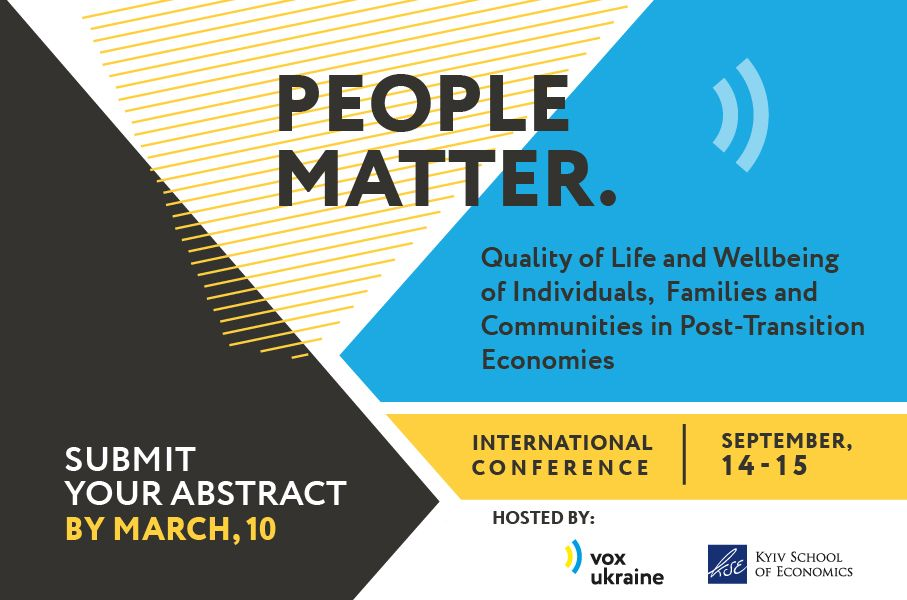 """""""People Matter: Quality of Life and Wellbeing in Post-Transition Economies"""""""