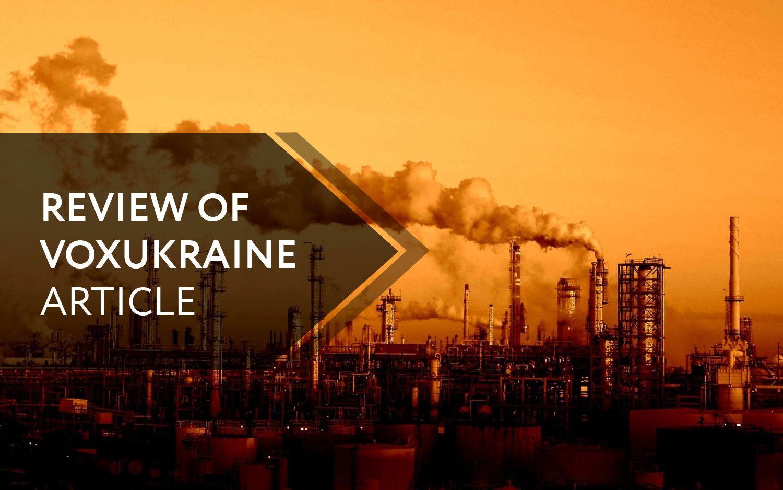 "Vladimir Dubrovskiy: ""Industrial Policy"" Is Not For Ukraine"