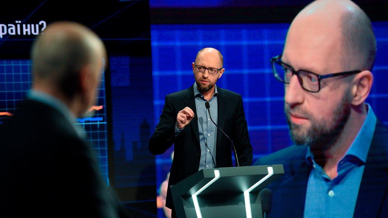 Арсений Яценюк о своих достижениях: VoxCheck слов экс-премьера