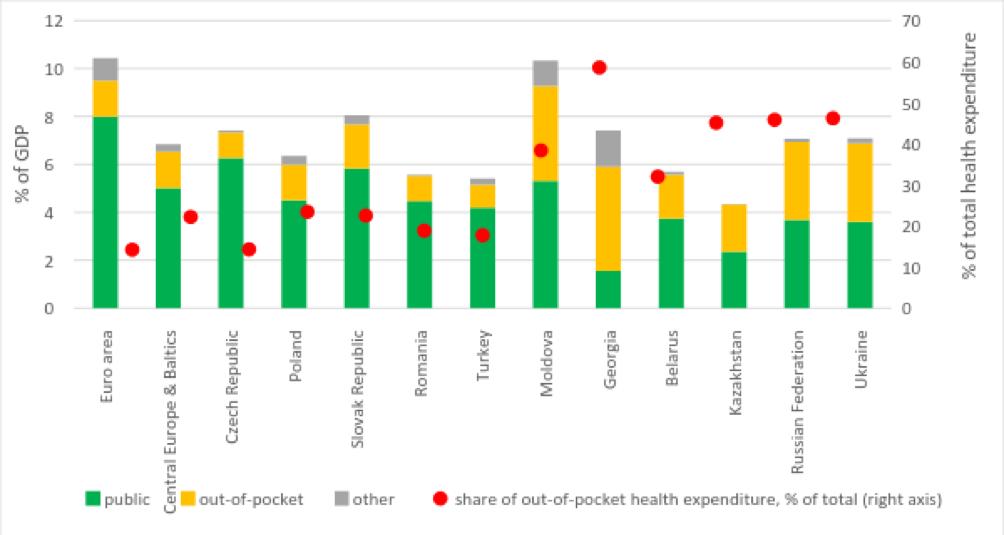 Inefficiencies in the Ukrainian healthcare: do we get the value for money?