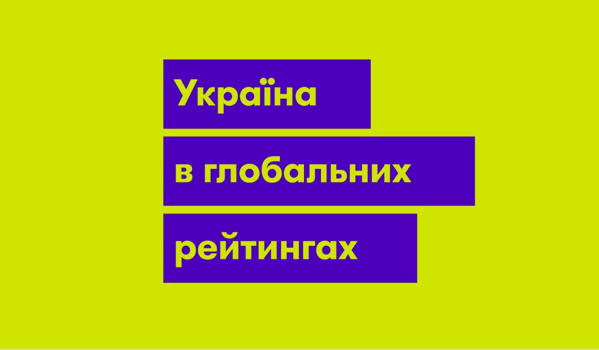 Україна в глобальних рейтингах: куди і з якою швидкістю рухається країна