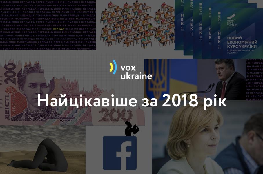 Вибір читачів. Що українці читали найбільше на сайті VoxUkraine у 2018 році