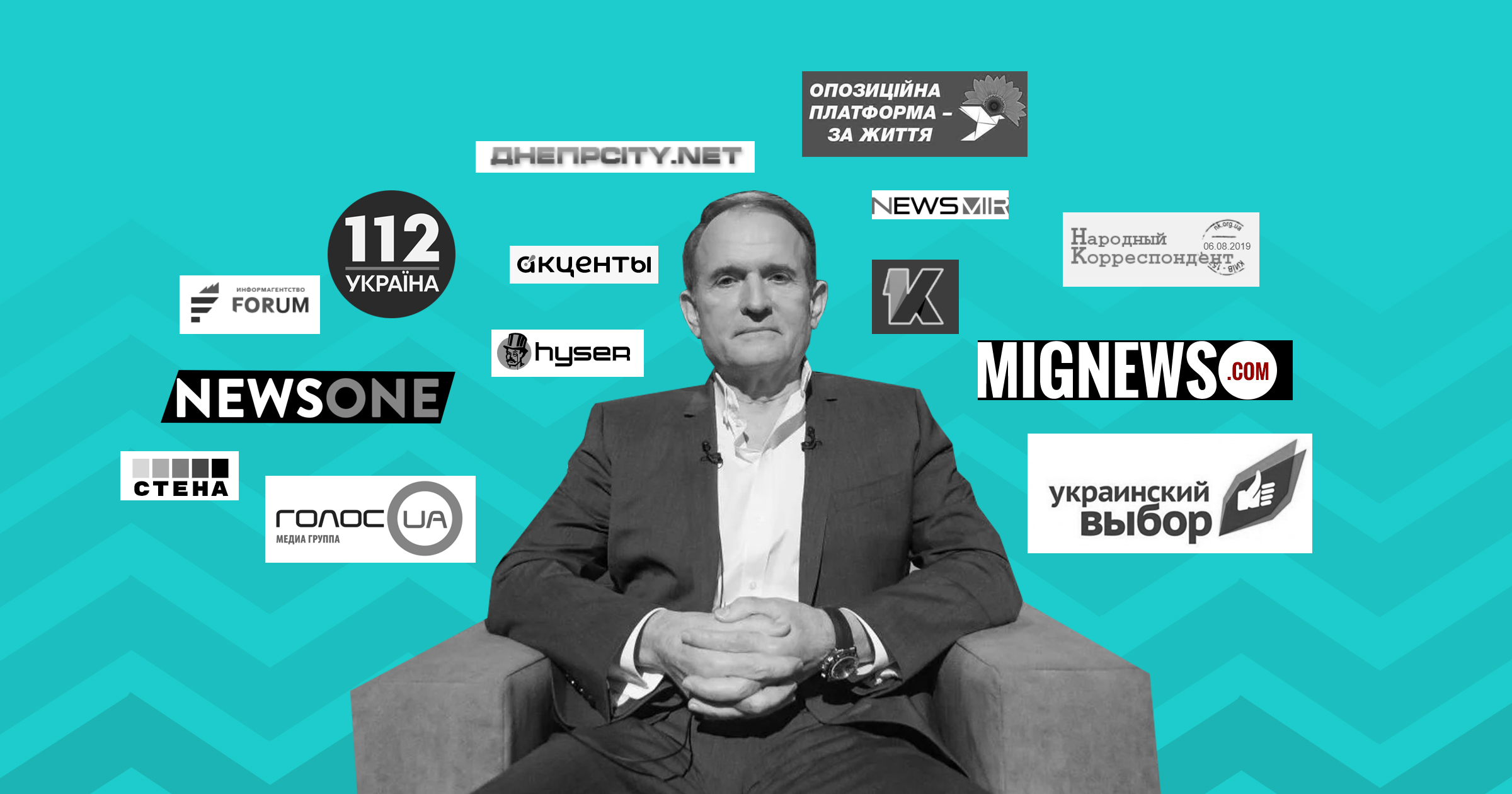 How Viktor Medvedchuk uses his pocket media. The case of informational attack on VoxCheck