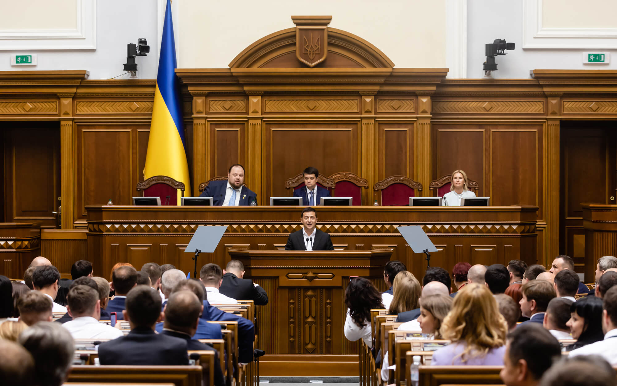 Their first time. VoxCheck of the first session of the IXth Verkhovna Rada convocation