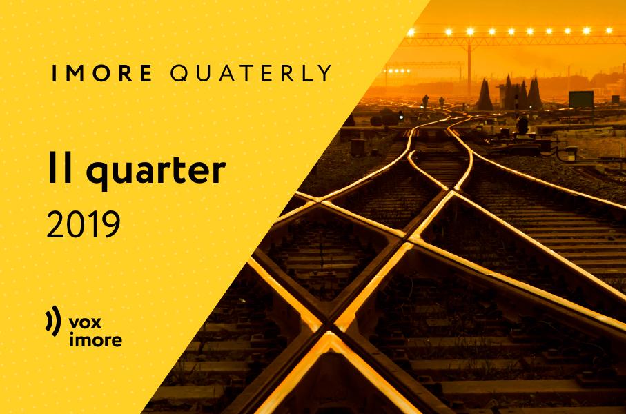 iMoRe: Quarterly review, quarter II, 2019