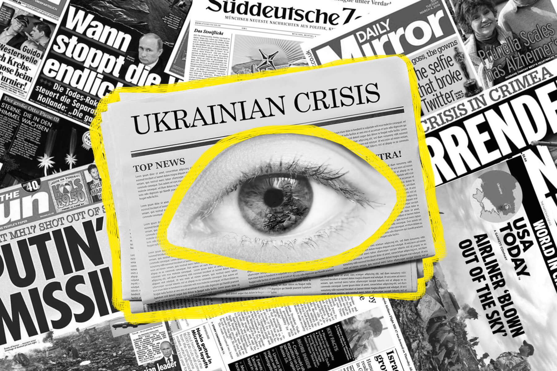 How British, German, and US Media Cover Crimea's Annexation and the Donbass War