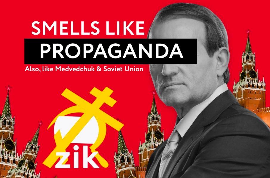 Smells like Medvedchuk, Kremlin Propaganda and Soviet Union
