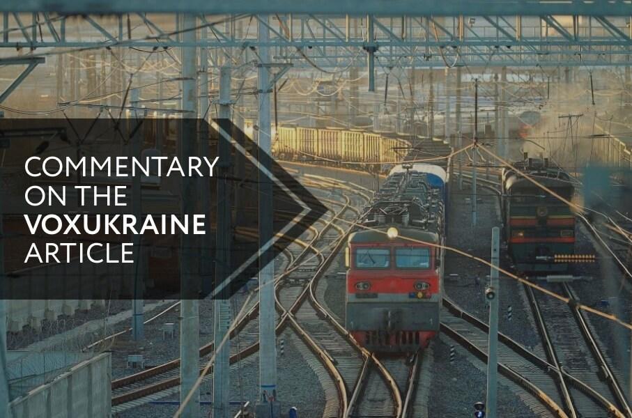Reforming and Revitalizing Ukrzaliznytsia