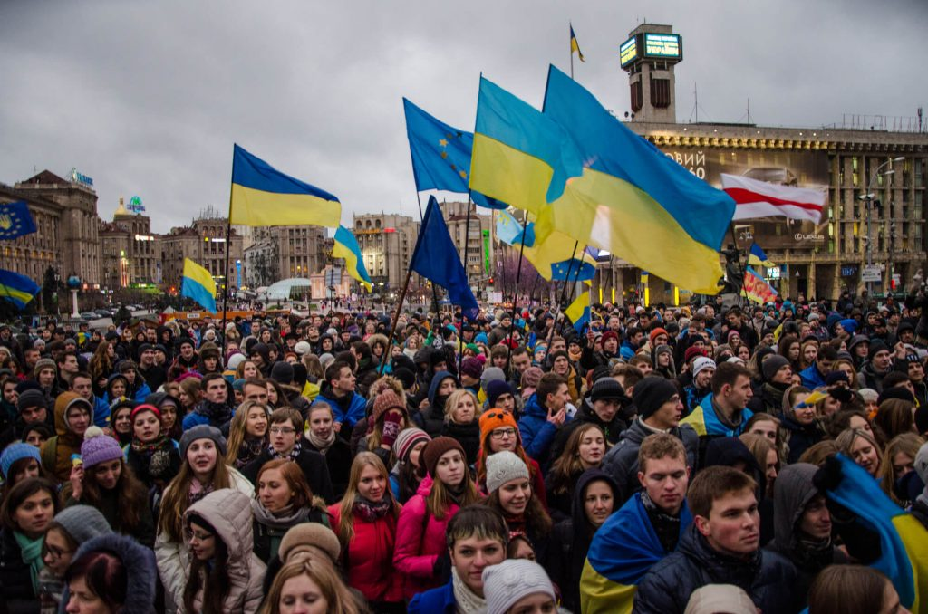 How did the Ukrainian oligarchy keep going after Euromaidan?