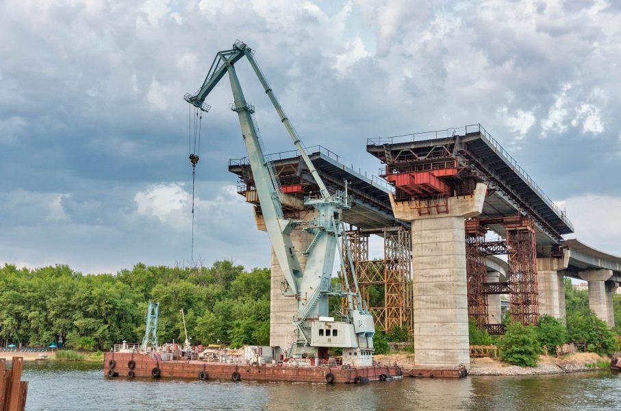 «Тыква» вместо Golden Gate. Почему не могут достроить Запорожский мост?